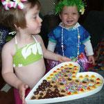 Marig a souhaité fêter ses 3 ans en tahitienne