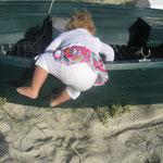 Chloë est toujours prête à escalader