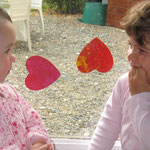 les petits coeurs qui collent partout, 2009 fête des mamans