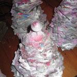 2011 sapin en papier fait par les enfants ... jour après jour