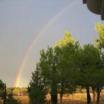 Arc en ciel derrière chez nous 29/11/2008