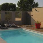 piscine/douche extérieure