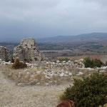 Ruines du chateau de la Bouisse