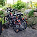 Abstellmöglichkeit für Fahrräder