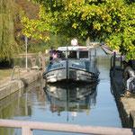Lot-et-Garonne - Navigation sur le Pont-Canal à Agen