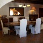 Chambres d'hôtes Le Pré Joli à Cancon - La salle à manger