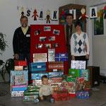 Päckchen-Aktion für Sakiai 2009