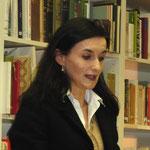 Barbara Gabrielli, die Leiterin des Amtes für Kultur Graubünden, bei ihrer Festrede.