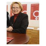 Brigit Pedolin führt seit 40 Jahren mit Gespür und Flair für Farben und Formen ihr Geschäft für Vorhänge und Fensterdeko
