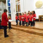 Auftritt am offenen Adventssingen in der Kirche Ittigen