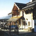 Die Bärenhütte im Jahr 2002