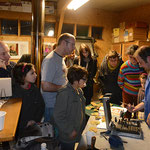 LE MOULE À GAUFRE - Atelier en fête 2012 © photo éric Maulavé
