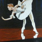 Hermaprodite acrylique sur toile (115 x 90 cm)