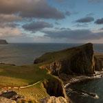 Neist Point mit Leuchtturm auf Skye
