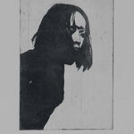 Anne, 1999, 29,5x19,5cm, Radierung/Bütten, R16         ©Raimund Egbert-Giesen