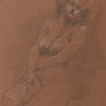 Nackt, 2014, 50x40cm, Graphit/Papier, A23                   ©Raimund Egbert-Giesen