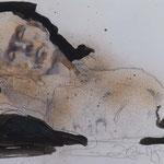 Nachtblick, 2015, 55,5x34cm, Tusche/Papier, A14                   ©Raimund Egbert-Giesen