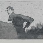 Adonis, 2003, 29,5x24,5cm Radierung/Bütten, R6          ©Raimund Egbert-Giesen