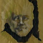 Maximilian Schell, 2011, 37x32cm, Mischtechnik/Papier, P24              ©Raimund Egbert-Giesen