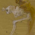 Sichtung, 2008, 35x27,5cm,  Fineliner/Tusche/Papier, A22                   ©Raimund Egbert-Giesen