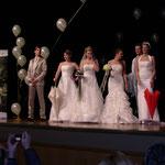 Hochzeitsmesse Jahnbachhalle Lohmar Februar 2012 (Veranstalter Agentur Janke),  Brautkleider - Brautmode Ester, Brautschirme - Anja H.