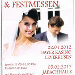 Hochzeitsmesse Jahnbachhalle Lohmar, Veranstalter: Agentur Janke
