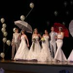 Hochzeitsmesse Jahnbachhalle Lohmar 2012 (Veranstalter Agentur Janke), Brautkleider - Brautmode Ester, Brautschirme - Anja H.