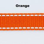 Orange ist in den folgenden Breiten erhältlich: 20mm, 25mm, 30mm.