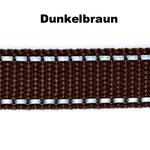Braun ist in den folgenden Breiten erhältlich: 20mm, 25mm, 30mm.