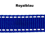 Blau ist in den folgenden Breiten erhältlich: 20mm, 25mm.