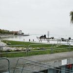 Bodensee mit Promenade