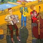 Уличные музыканты (под заказ)
