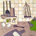 Кухня - триптих (под заказ)