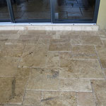 Verlege-Muster Travertine aussen