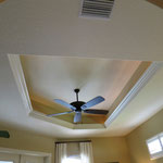 Coffered Ceiling Master Bedroom