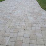 Paver Bricks auf der Fläche