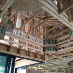 Coffered Ceiling Wohnzimmer