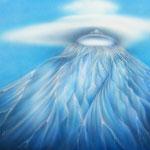 「山の女神」:F20   2011年制作
