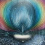 「虹の女神」: F20   2011年制作
