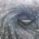 「雪の女神」: F20  /2013年作