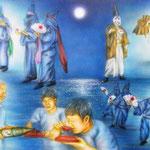 「与論十五夜踊りの夜」:P15   2011年作