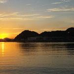 下関彦島の夕焼け
