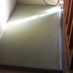 表替した畳を敷きます。
