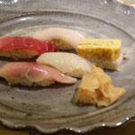にぎり寿司 玄米です。