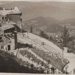 Il Berghof bombardato e distrutto 1945