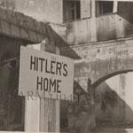 Il cartello degli americani messo al Berghof 1945