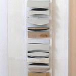 o.T., 1961, Rekonstruktion des zerstörten Bildes von 1961 aus  2011, Spiegelobjekt in Holzkasten hinter Plexi, 112x39,5x11cm