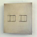 spazio elastico (equivalenza), 1968/69, rostfreier Stahl, elektrischer Antrieb, 50x50x14cm, Ed. 22/100