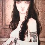 「女性画」2015年・P3・紙本着彩