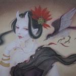 「羽音」-Hum - Year,2012 340×460㎜